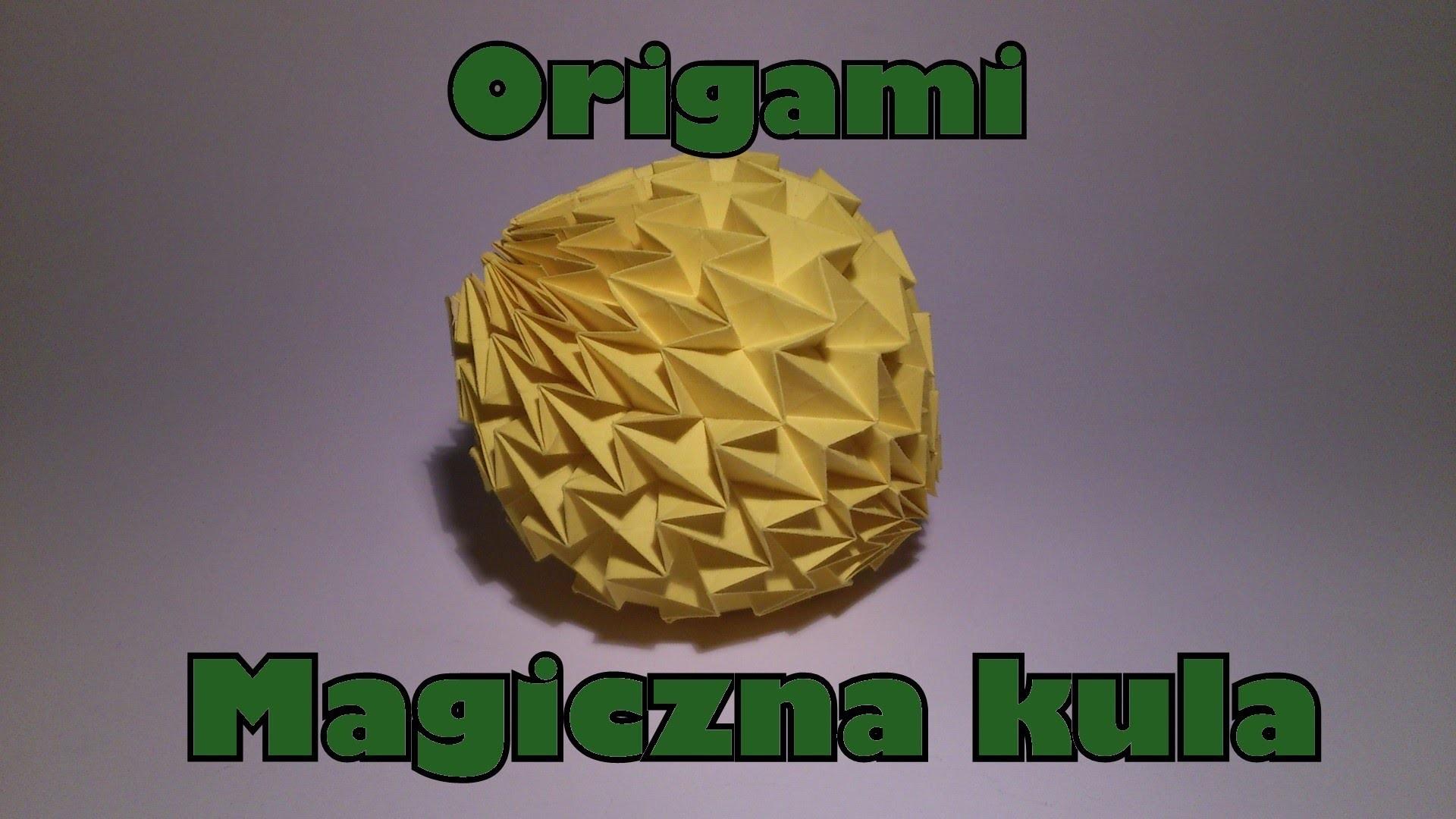 Origami - Magiczna kula