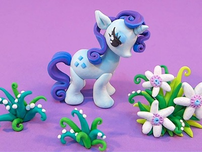 RARITY tutorial - polymer clay - My Little Pony