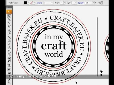 Scrapbooking stempel - tutorial