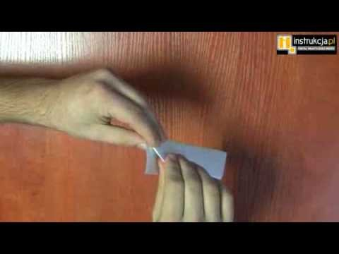 Sztuka Origami Statek - instrukcja.pl