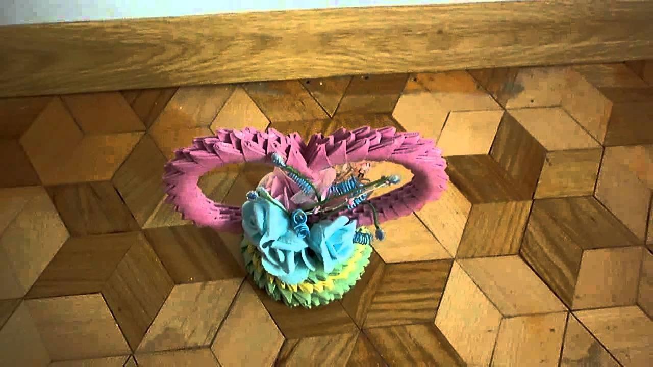 Walentynkowe serduszko origami