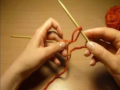 1-01 pierwsza pętelka || slip knot