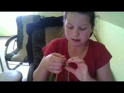 Jak zrobić pętle i kwadrat z dwóch żyłek :)