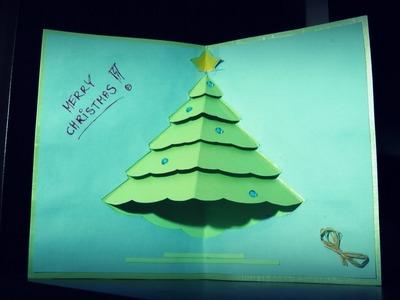 Kartka Świąteczna z choinką #3
