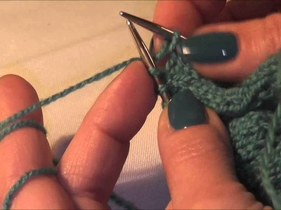 Knitting Stricken; Zunehmen von Maschen innerhalb einer Strickreihe