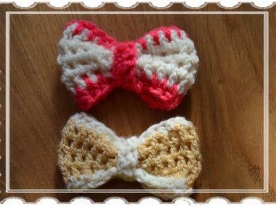Kokardka na szydełku. crochet bow