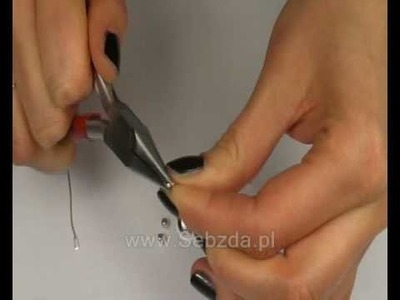 KOLCZYKI 2# Kurs tworzenia biżuterii (www.Sebzda.pl)