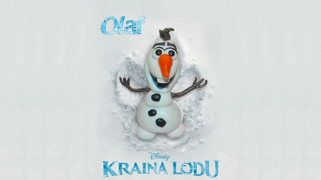 Lepiołki: Olaf  ::TUTORiAL:: polymer clay, made hand