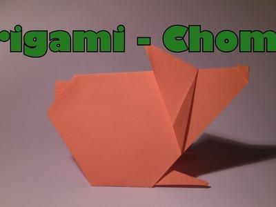 Origami- Chomik