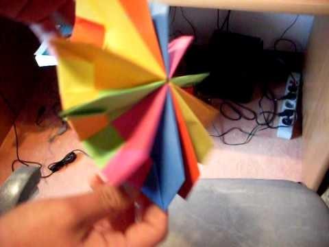 Origami - fireworks