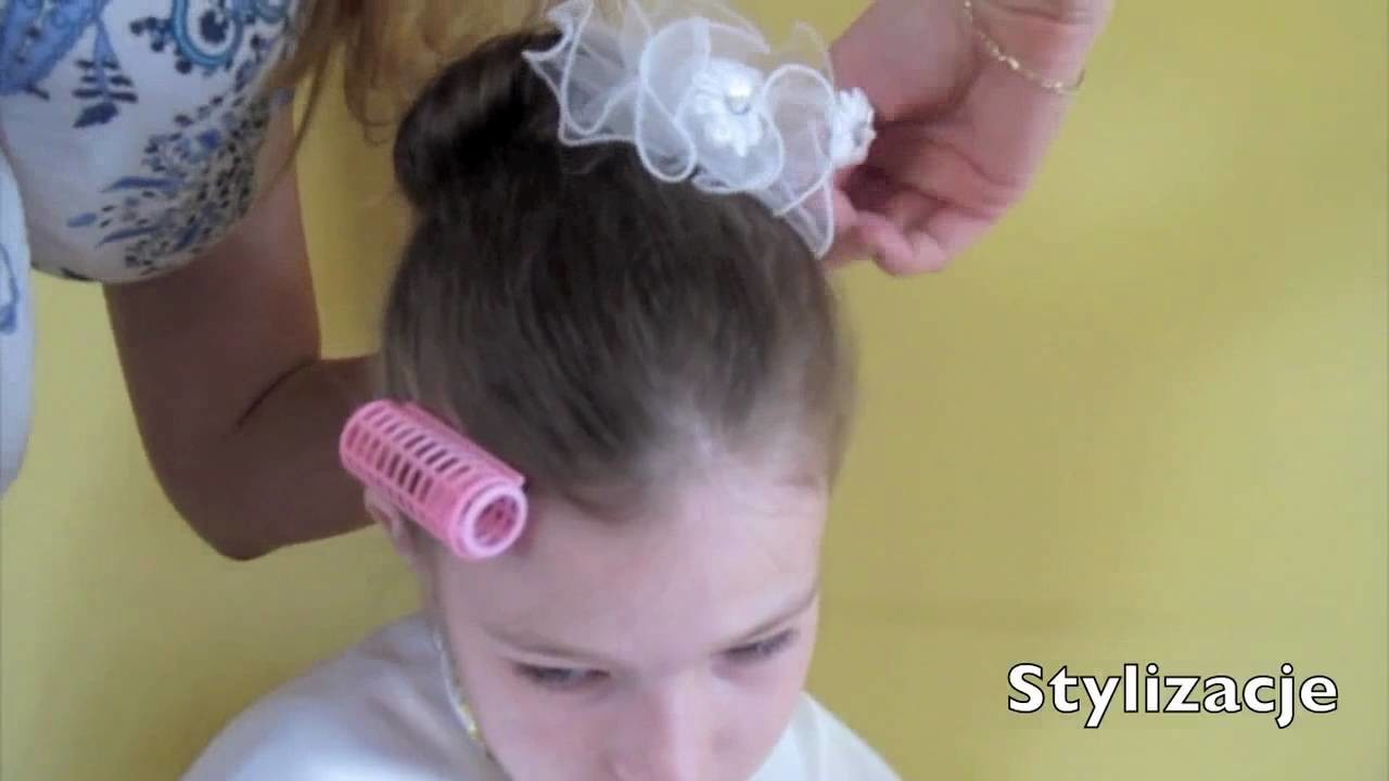 *** UPIĘCIA NA PIERWSZĄ KOMUNIĘ. FIRST COMMUNION UPDO'S komunia girls girly***