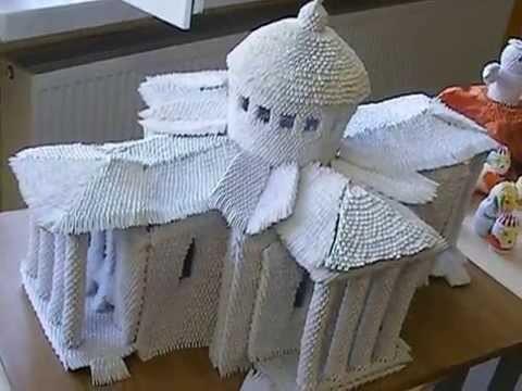 Wystawa origami modułowego w Dąbrowie Tarnowskiej