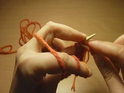 1-05 lewe oczka || purl stitches