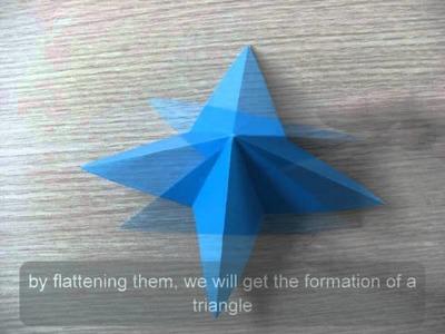 3D origami - basic paper folding