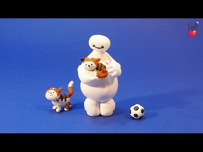 BAYMAX from Disney Big Hero 6 movie - tutorial polymer clay modelina