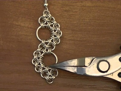 Biżuteria chainmaille cz.5- Jak zrobić kolczyki Zen