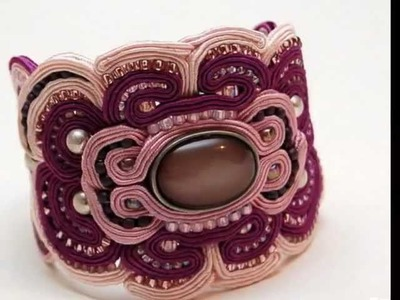 Biżuteria sutasz , soutache jewellery by martazare