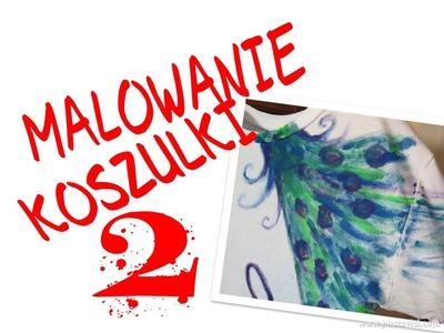 DIY: MALOWANIE KOSZULKI 2 - T-SHIRT DLA KAROLA ♡
