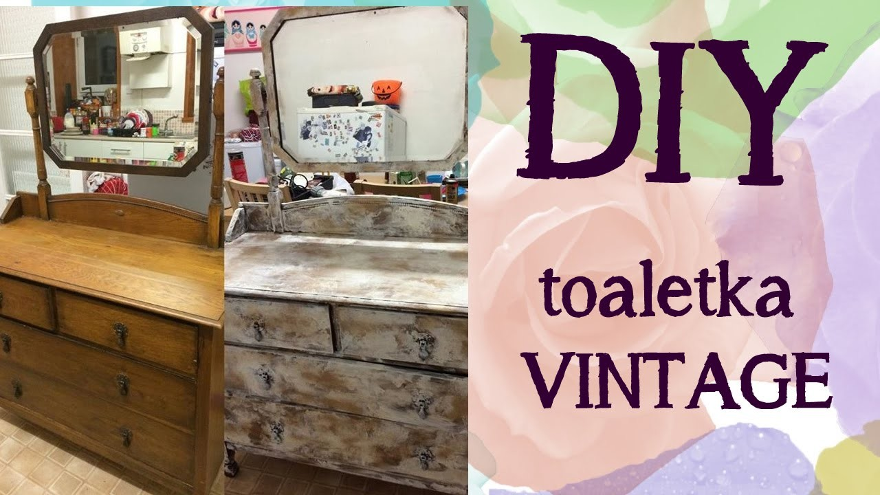 DIY toaletka w stylu vintage | suzannemaried