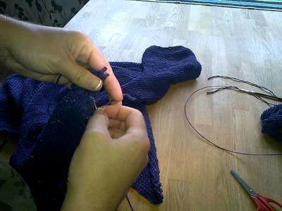 Iwona Eriksson || Jak spruć lub przedłużyć robótkę na drutach.