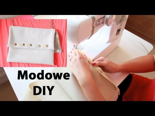 Jak uszyć torebkę kopertówkę - Modowe DIY