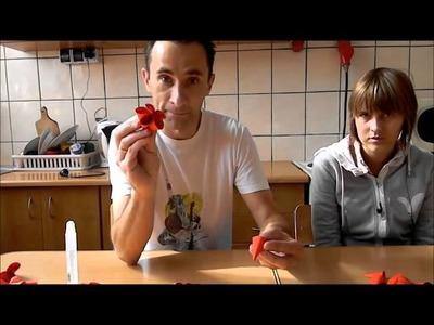 Jak zrobić kulistą bombkę origami