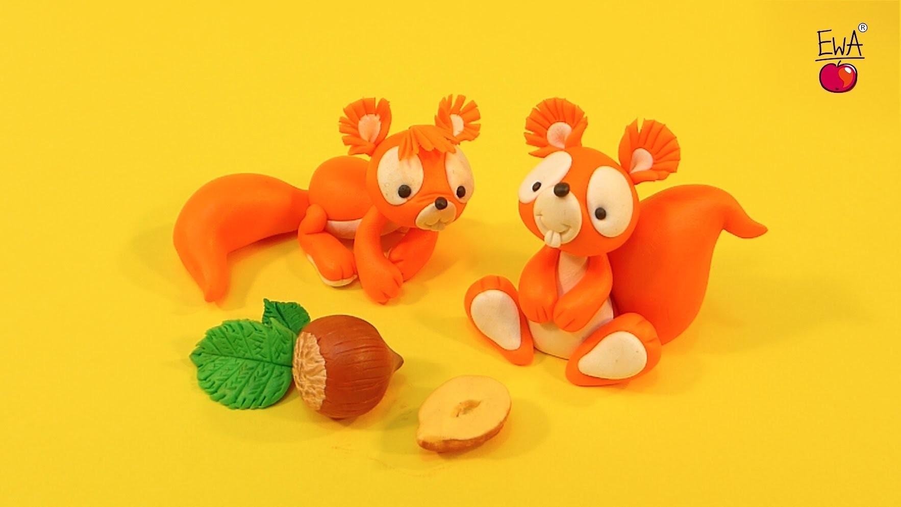 LEPIMY! wiewiórka Squirrel - tutorial polymer clay