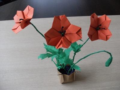 Origami 3d - MAK POLNY - instrukcja jak wykonać
