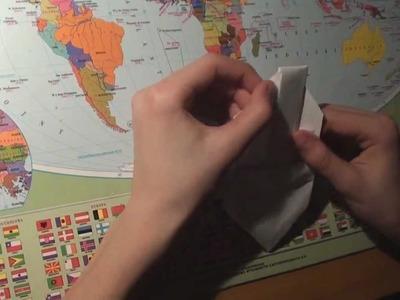 Origami jak zrobić koszyczek wielkanocny:) -How to make an origami Easter basket:)