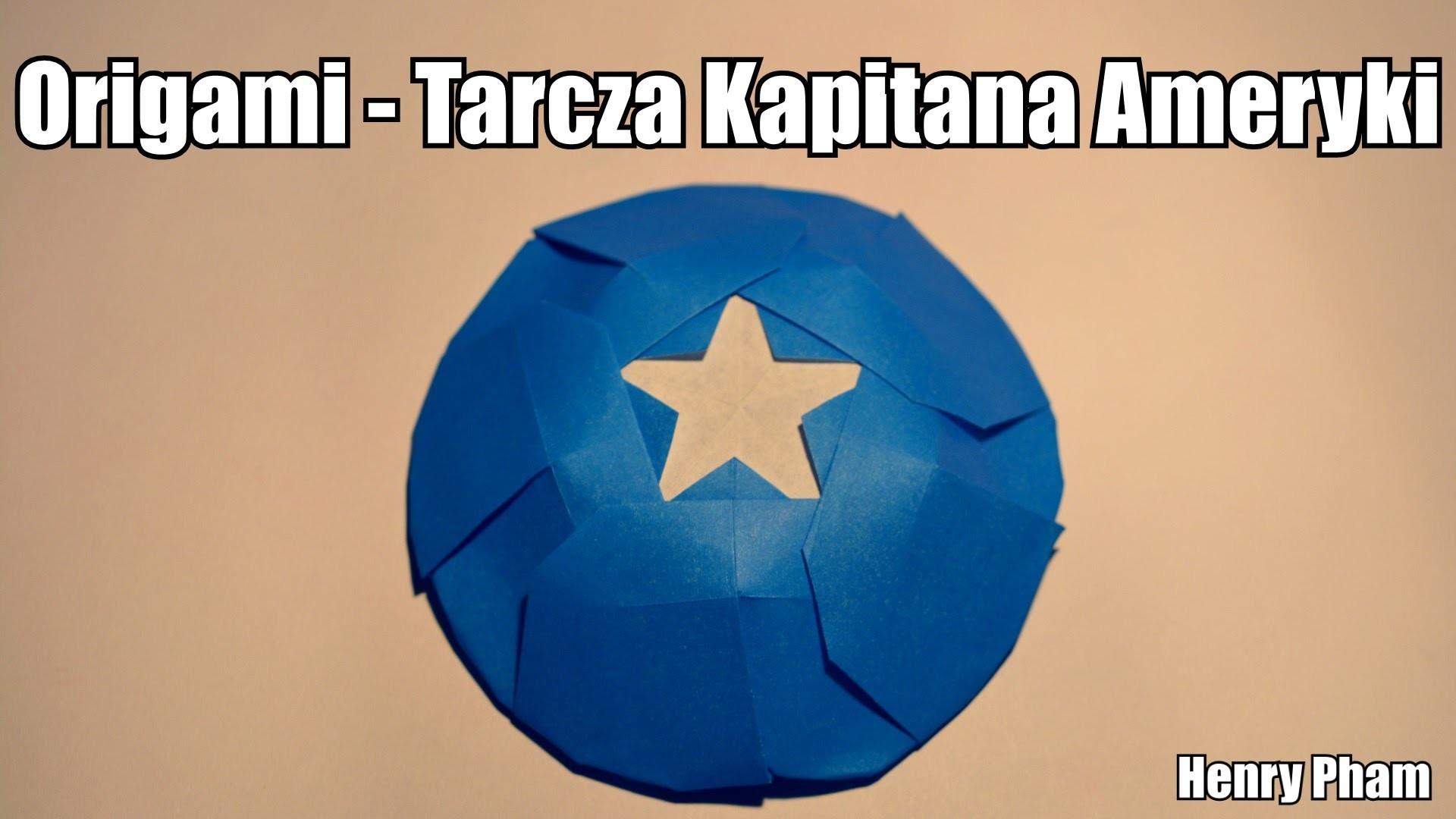 Origami - Tarcza Kapitana Ameryki