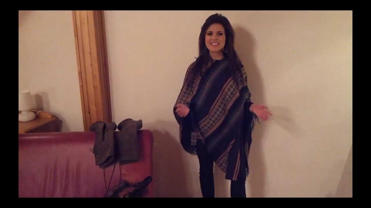 """Vlog Fashion Roulette - """"Ponczo na co dzień"""""""