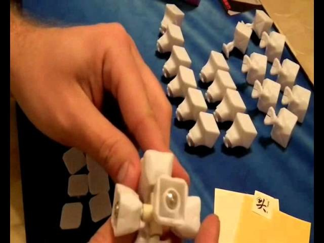 Dayan 5 ZhanChi DIY - jak złożyć PL - SpeedCube.wmv