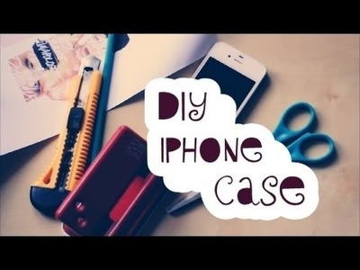 DIY iPhone case | alissvlogchannel