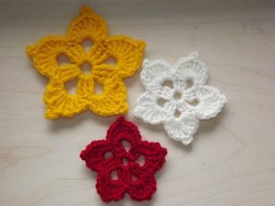 Egzotyczny kwiatek - Szydełkowanie bez tajemnic