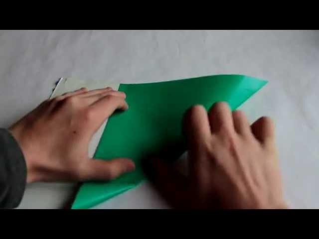 Jak złożyć : Żuraw Origami