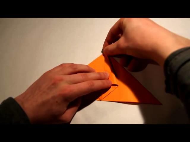 Jak złożyć : Samolot - Jaskółka Origami