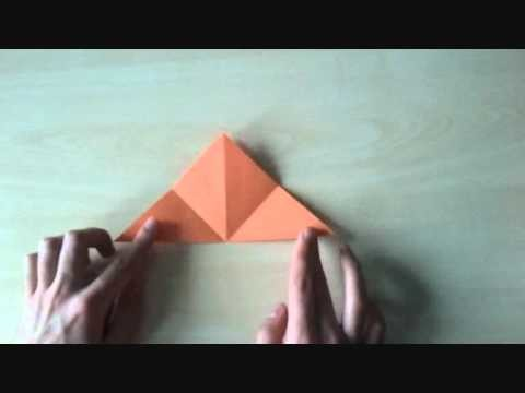 Origami dla dzieci - miś