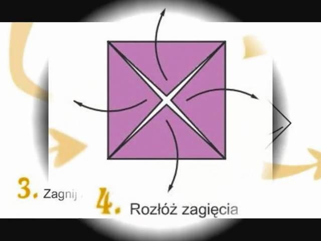 Origami - jak zrobić ramkę na zdjęcie