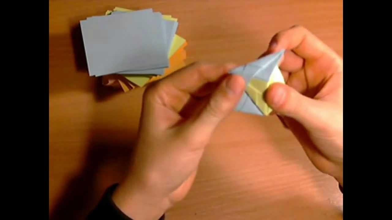 Origami modułowe 1# Inny moduł