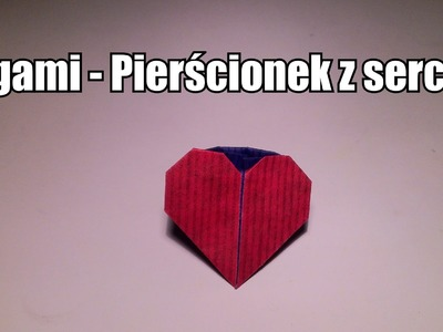 Origami - Pierścionek z sercem ♥
