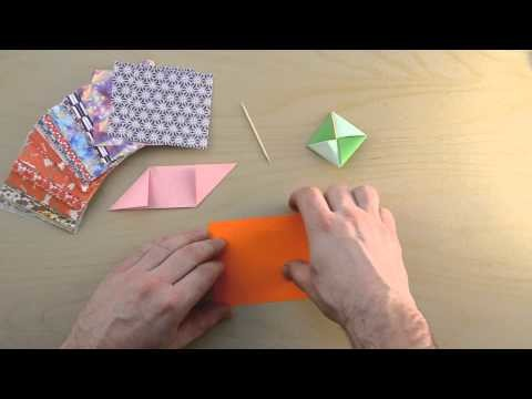 Origami Spinning Top