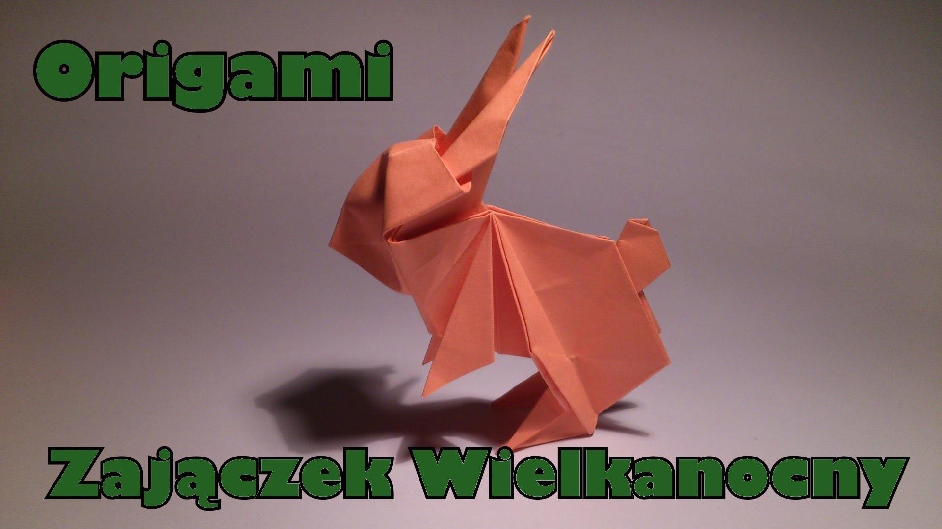 Origami - Zajączek Wielkanocny