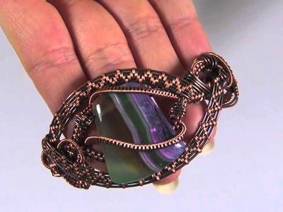 Wire wrapping krok po kroku - materiały - druty srebrne i miedziane