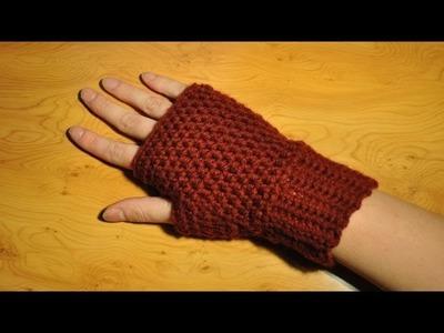 Ocieplacz na rękę - Szydełkowanie bez tajemnic