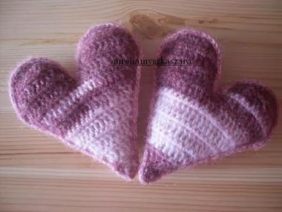 Szydełkowe serce nie tylko na Walentynki