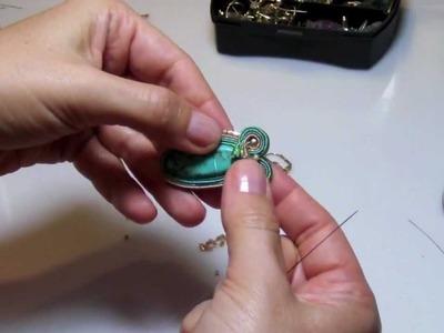 Sutasz - kolczyki soutache-pelny tutorial