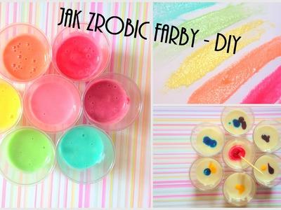 Jak zrobic farby w domu - tutorial DIY