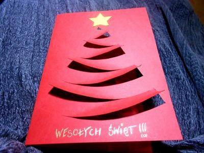 Kartka Świąteczna z choinką #2