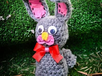 Zajączek na szydełku. Bunny crochet (caption eng)