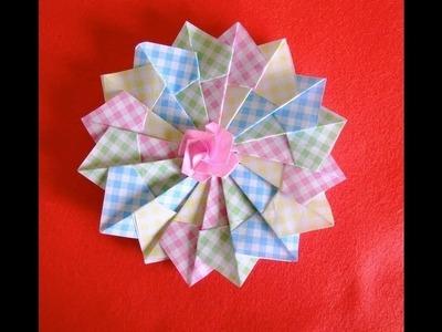 Origami Maniacs 71: Origami Mandala 折り紙なべしき